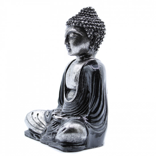 Buddha - Grå og Sort - Medium