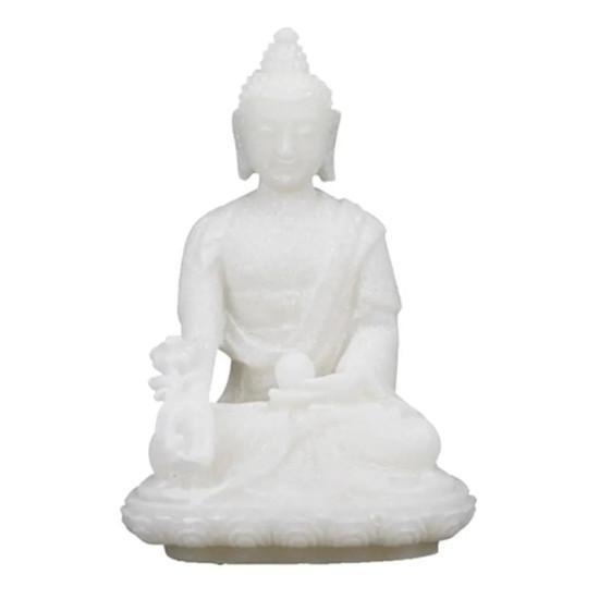 Buddha - Hvit - Medisin