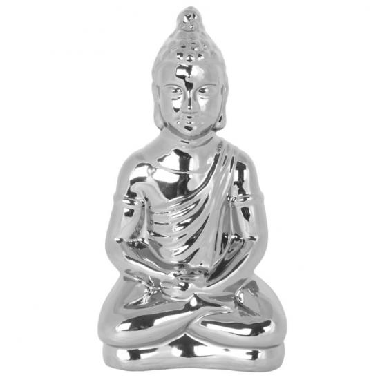 Buddha statue - Sølv