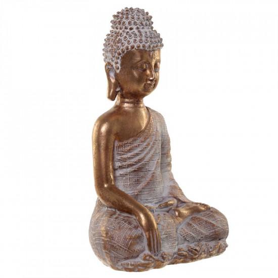 Thai Buddha - Gull/Hvit