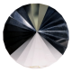 Krystall kjegle - 53mm - AAA-kvalitet - Bright Pearl