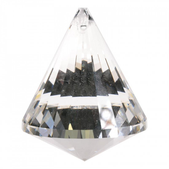 Krystall kjegle - 53mm - AAA-kvalitet
