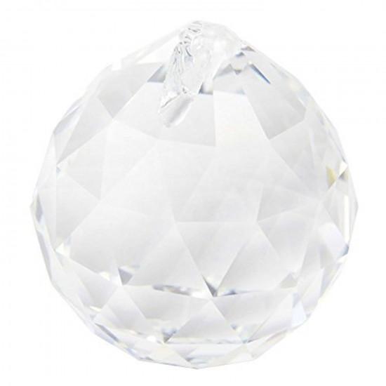 Krystall klode - 40mm - med oppheng