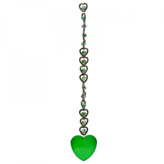 Hjerte - Grønn - Solfanger