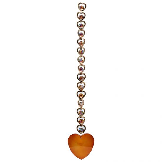 Hjerte - Oransje- Solfanger
