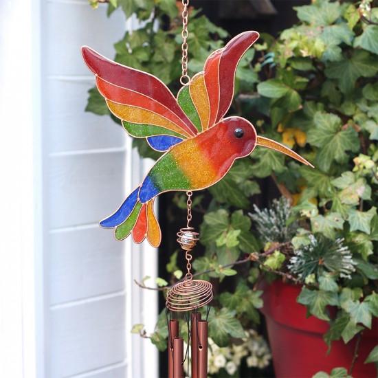 Fargerik Kolibri - Vindspill