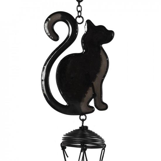 Katt - Svart - Vindspill