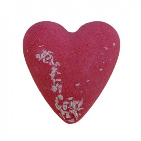 MegaFizz Hearts - Very Berry & Vanilla with Coconut Bits