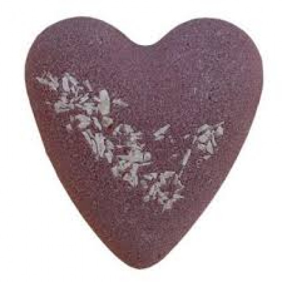 MegaFizz Hearts - Chocolate  with Coconut Bits