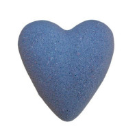 MegaFizz Hearts - Parisienne with Silver Glitter