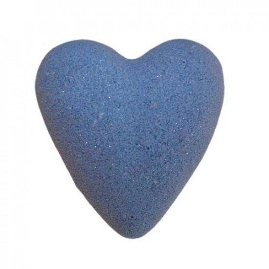MegaFizz Hearts - Parisienne with Silver Glitter
