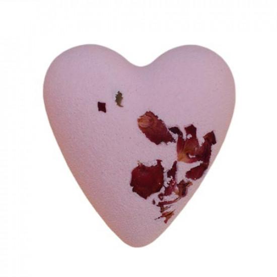 MegaFizz Hearts - Rose with Rose Petals