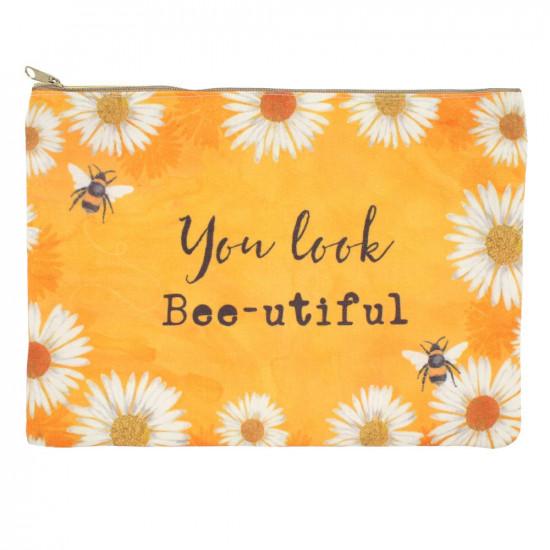 You Look Bee-utiful - Sminkeveske