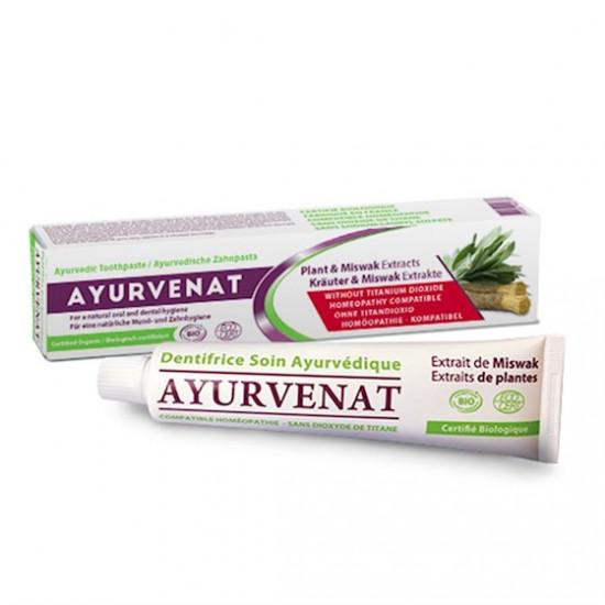 Miswak Toothpaste Ayurvedic BIO - Tannkrem