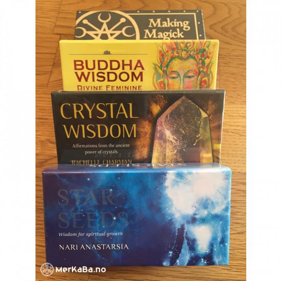 Crystal Wisdom - Affirmasjonskort