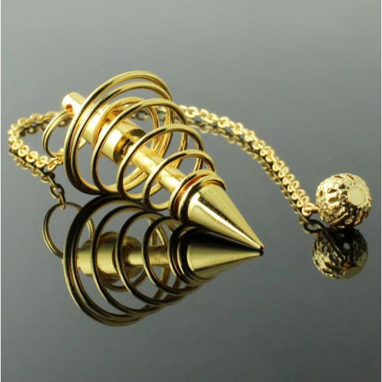 Spiral - Messing - Pendel