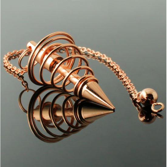 Spiral - Kobber - Pendel