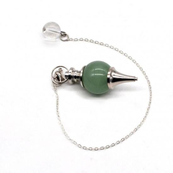 Grønn Aventurin Pendel