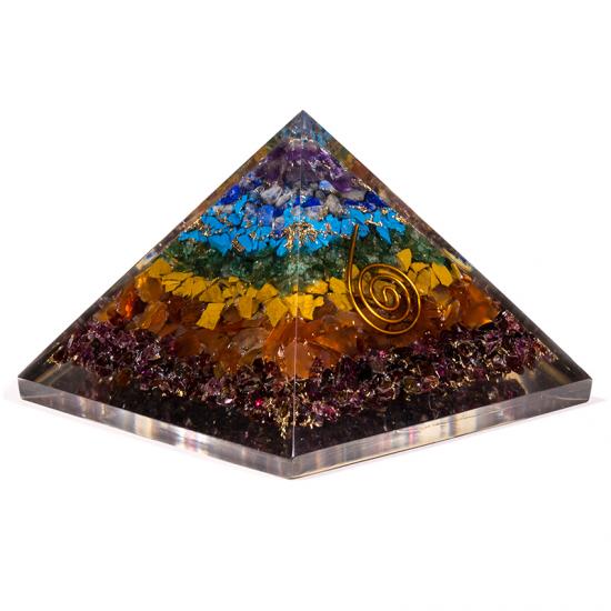 Orgone Chakra pyramide - Reiki