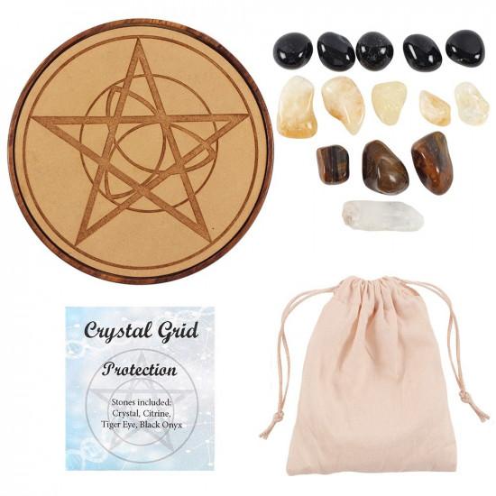 Krystallsett - Beskyttelse