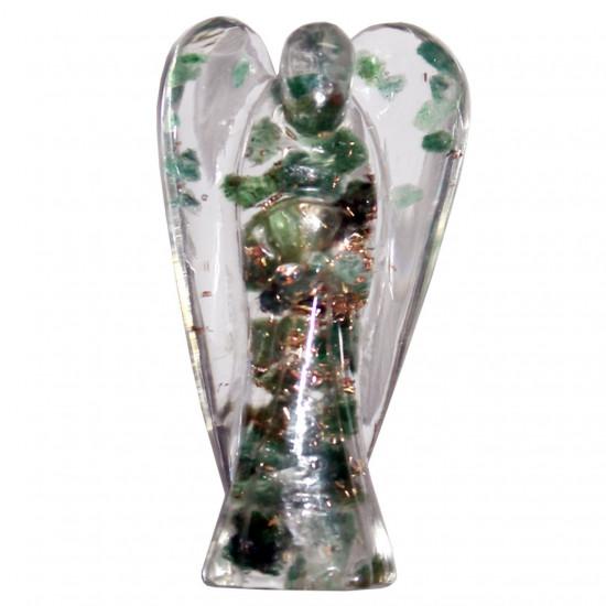 Orgone engel - Grønn Aventurin