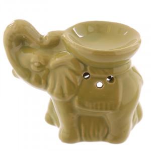 Elefant - Grønn - Aromalampe