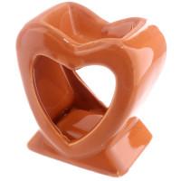 Hjerte - Oransje - Aromalampe