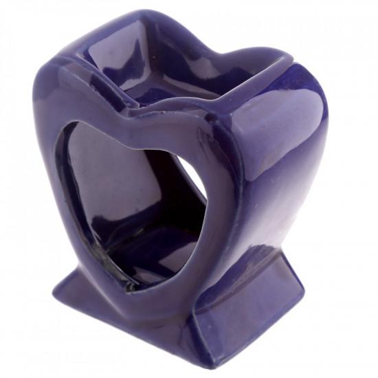 Hjerte - Blå - Aromalampe