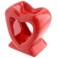 Hjerte - Rød - Aromalampe
