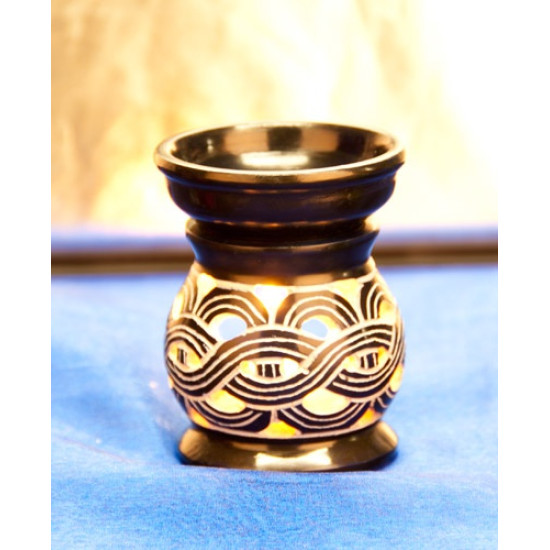 Aromalampe Keltisk mønster, Blå