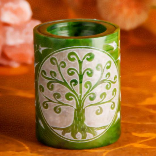 Yggdrasil - Grønn - Aromalampe