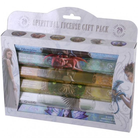 Spiritual gift pack - Anne Stokes - Røkelse