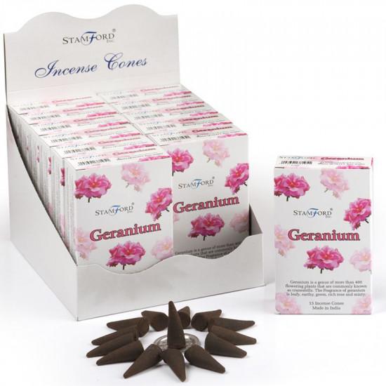 Geranium - Røkelseskjegler