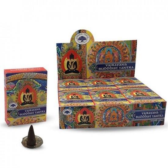 Buddhistisk tantra - Vajrayana - Røkelseskjegler