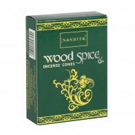 Wood Spice - Røkelseskjegler