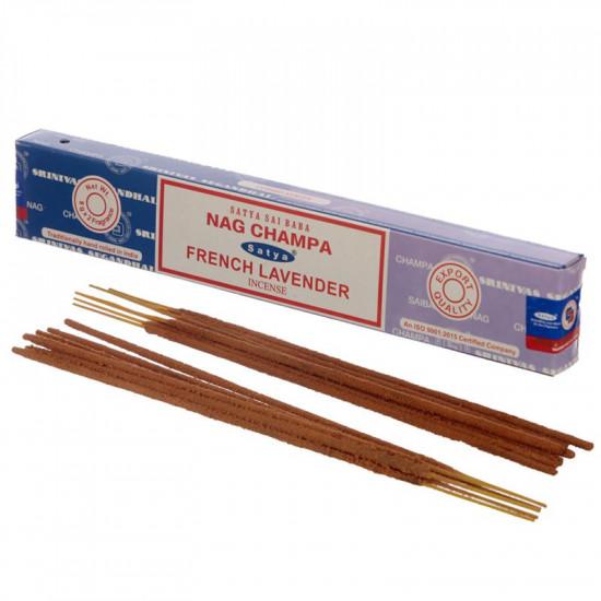 Nag Champa/ French Lavender - Combo - Røkelsespinner