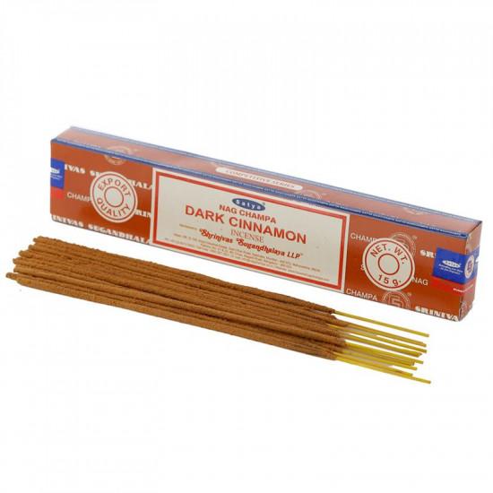 Nag Champa Dark Cinnamon - Røkelsespinner
