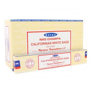 Nag Champa Californian white sage  - Røkelsespinner