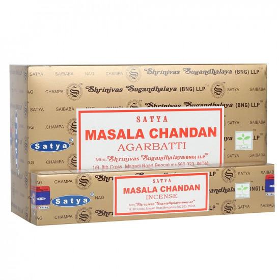 Nag Champa Masala Chandan - Røkelsespinner