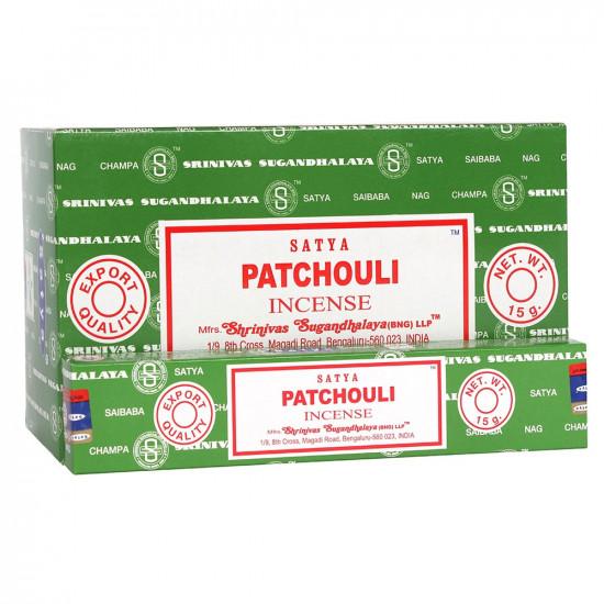 Nag Champa Patchouli - Røkelsespinner