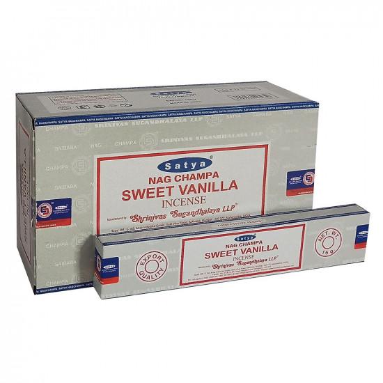 Nag Champa Sweet Vanilla - Røkelsespinner