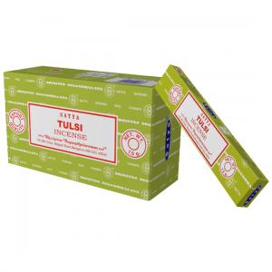Nag Champa Tulsi - Røkelsespinner