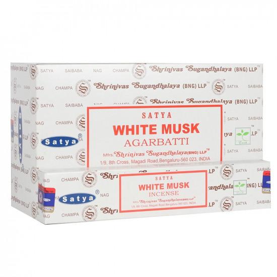 Nag Champa White Musk - Røkelsespinner