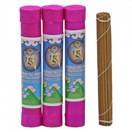 Ohm - Tibetansk røkelse - Chakra Balance