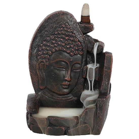 Backflow - Buddha Ansikt - Røkelsesholder