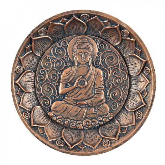 Buddha - Kobber - Røkelsesholder