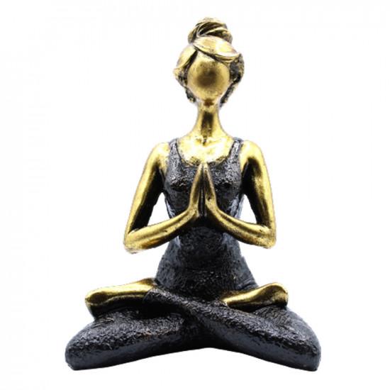 Yoga Lady - Svart og Bronse