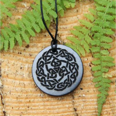 Shungitt - Celtic Knot - Anheng
