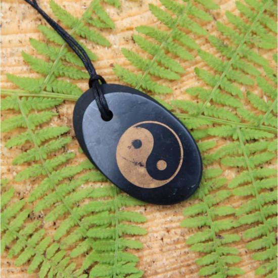 Shungitt - Yin Yang - Oval - Anheng