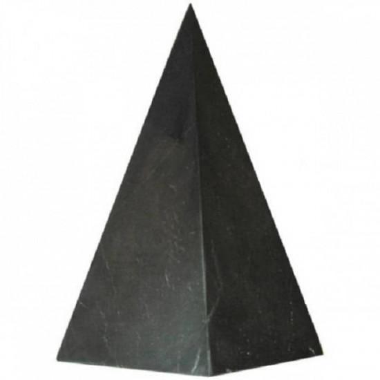 Shungitt - Upolert - Høy Pyramide 30x60mm